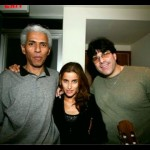 Pop singer Nelly Furtado and my great friend Mario Carter