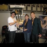 Linda Manzer (Famous Canadian luthier) and Henrik Andersen,