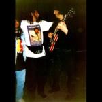 Great friends and great guitarists Luis Salinas & Raimundo Amador, Mallorca, Spain