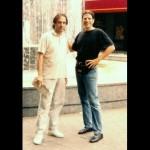 Con Manuel Angel