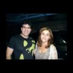 Con Berta Rojas