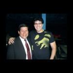 Con Luis Zumbado