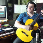 Grabando NEXT con mi ESTEVES acústica