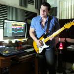 Grabando NEXT con mi Fender Stratocaster