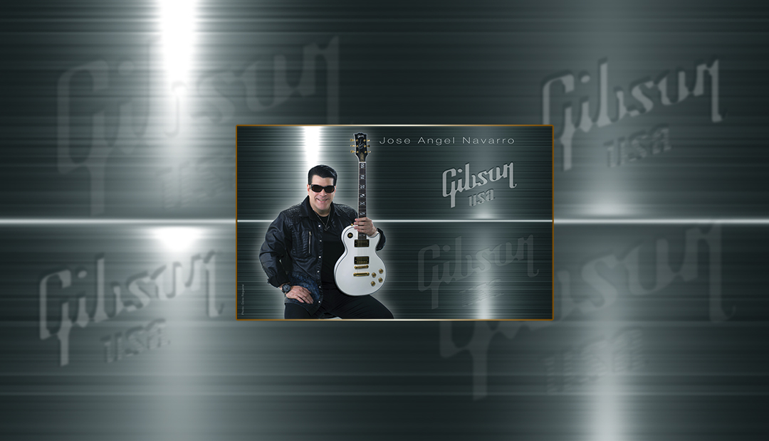 Jose Angel Navarro is using Gibson as his favorite guitar brand